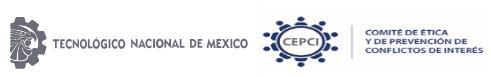 A toda la Comunidad del Tecnológico Nacional de México