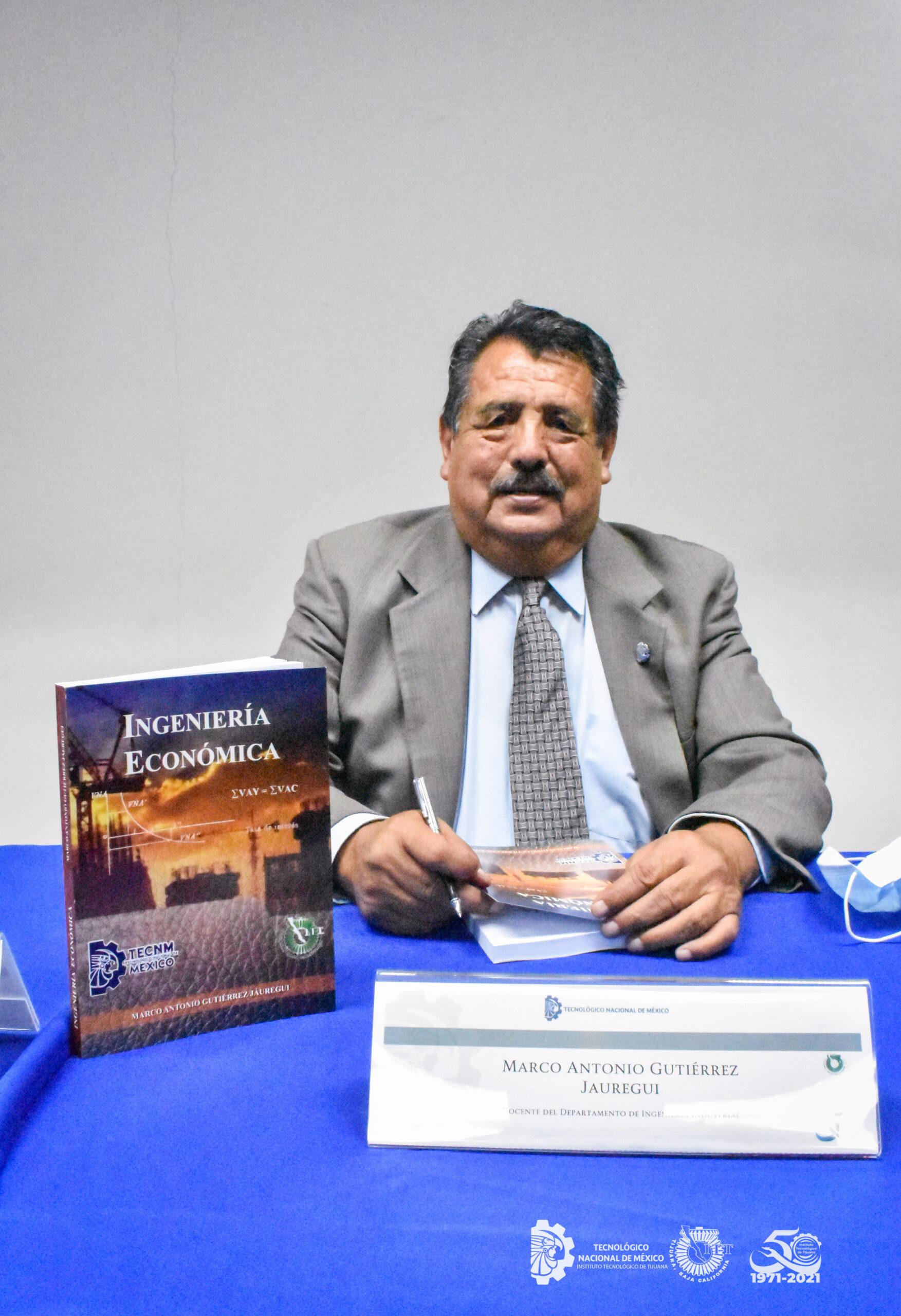 Presentan libro sobre Ingeniería Económica